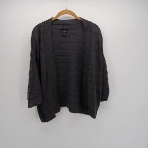 Worthington Open Front 3/4 Sleeve Cardigan Sweater